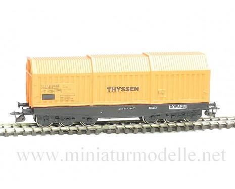 1:120 TT 3630 Coil transport car Shis THYSSEN, era 4