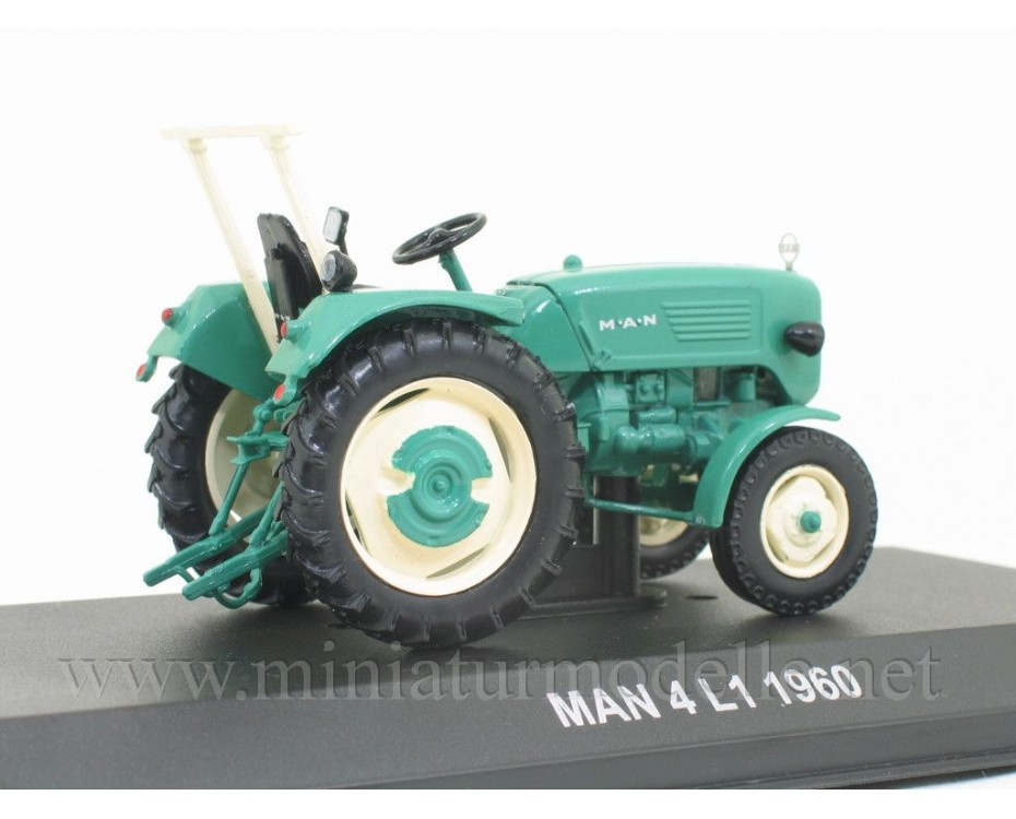 1:43 MAN 4L1 tractor with magazine #96