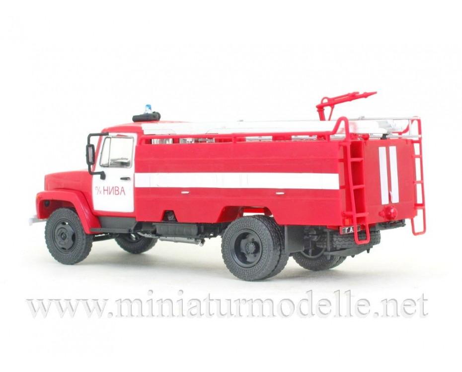 1:43 GAZ 3307 Tanklöschfahrzeuge AC-30 226 FW Feuerwehr mit Zeitschrift #35