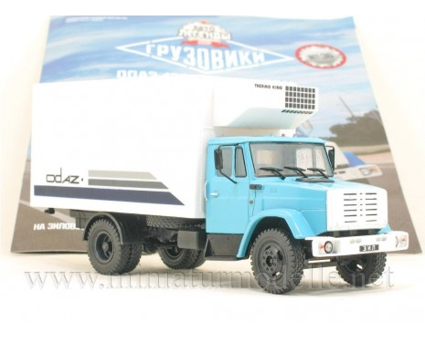 1:43 ZIL 44331 refrigerated van ODAZ 47093 with magazine #36