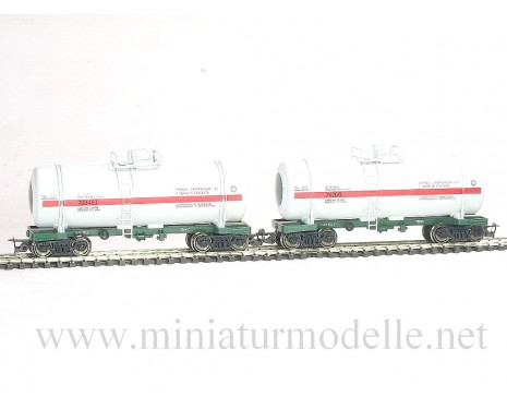 1:120 TT 3702 Tank wagon set for liquid gas transport of the SZD livery, era 4