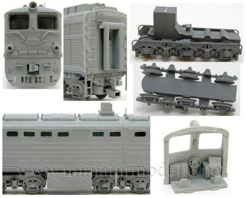 1:87 H0 2TE10L soviet two unit diesel-electric locomotive, SZD, 3-4 era, dummy small batches model kit,  REBRADO by www.miniaturmodelle.net