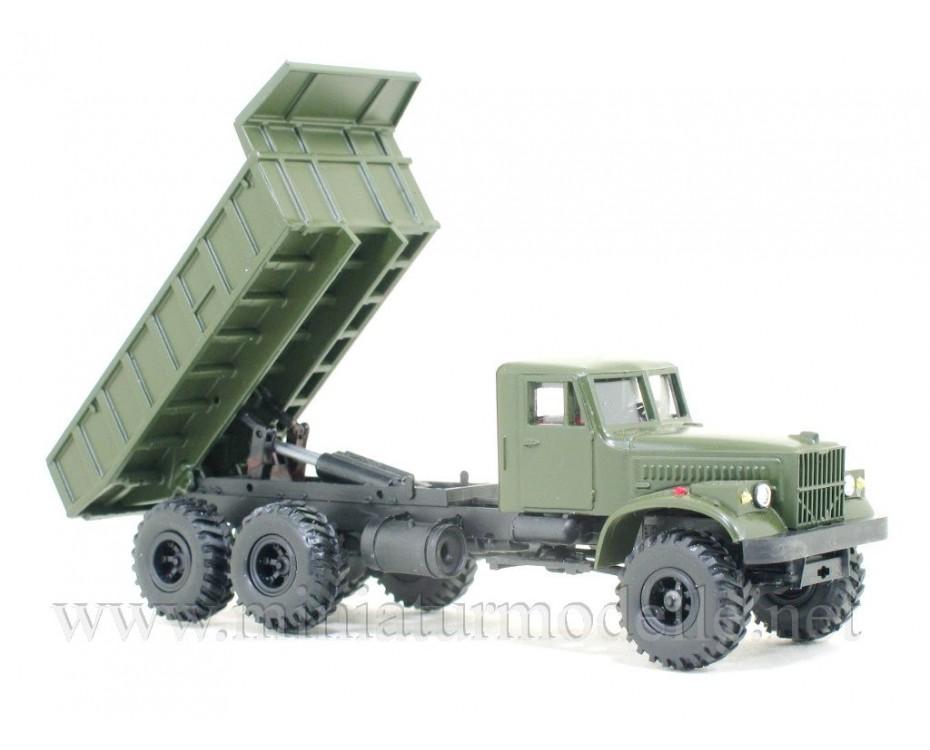 H0 1:87 KRAZ 255 B Wismut dump, military