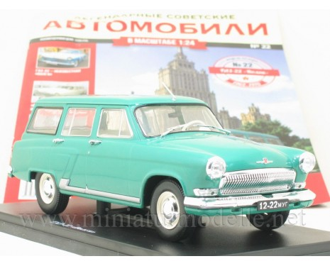 1:24 GAZ 22 Volga with magazine #22