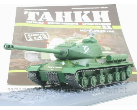 1:43 IS 2 1945 Soviet heavy Stalin Tank with magazine #11
