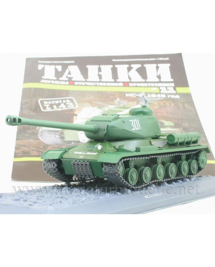 1:43 IS 2 1945 Stalinpanzer Kampfpanzer mit Zeitschrift #11