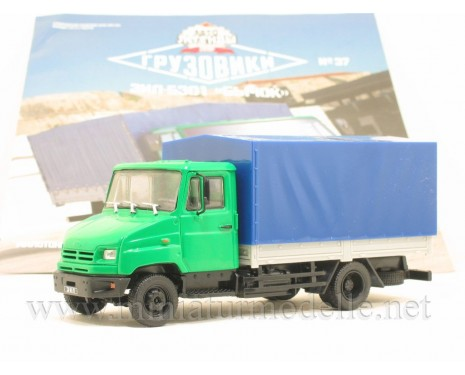 1:43 ZIL 5301 platform with canvas top with magazine #37
