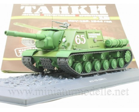 1:43 ISU 152 (1944) Soviet tank destroyer with magazine #12