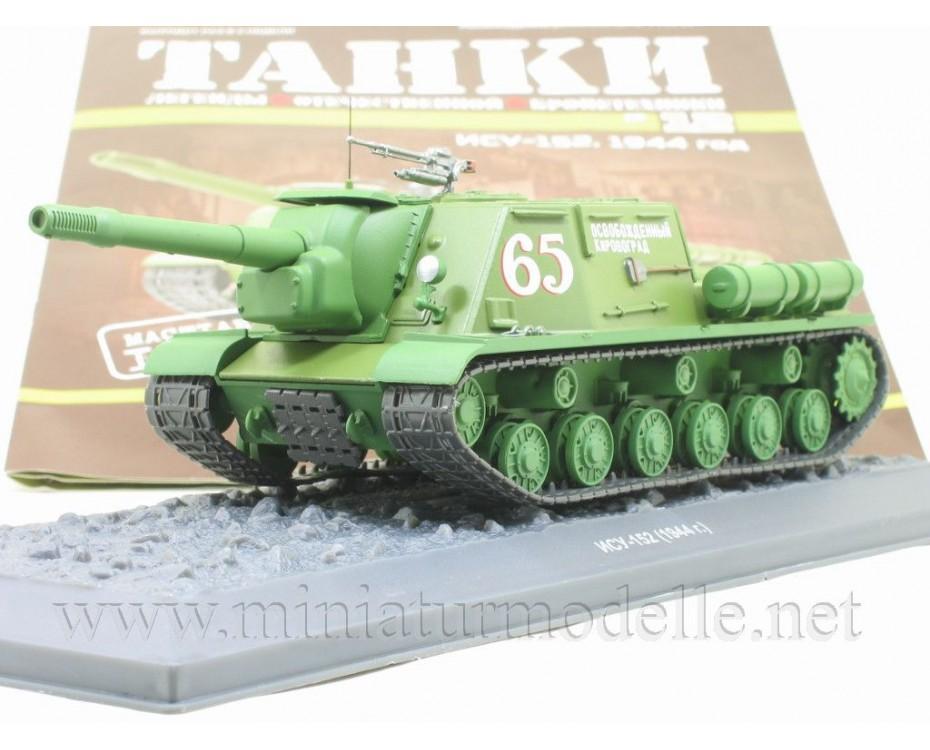 1:43 ISU 152 (1944) sowjetischer Jagdpanzer mit Zeitschrift #12