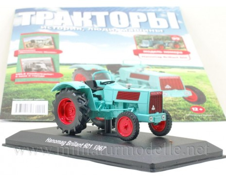 1:43 Hanomag Brillant 601 (1967) Tractor with magazine #99