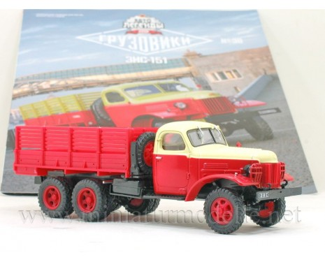 1:43 ZIS 151 service truck with magazine #38