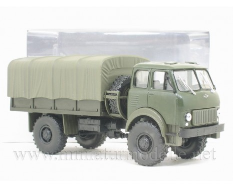 1:43 MAZ 505 (1962) canvascover, military