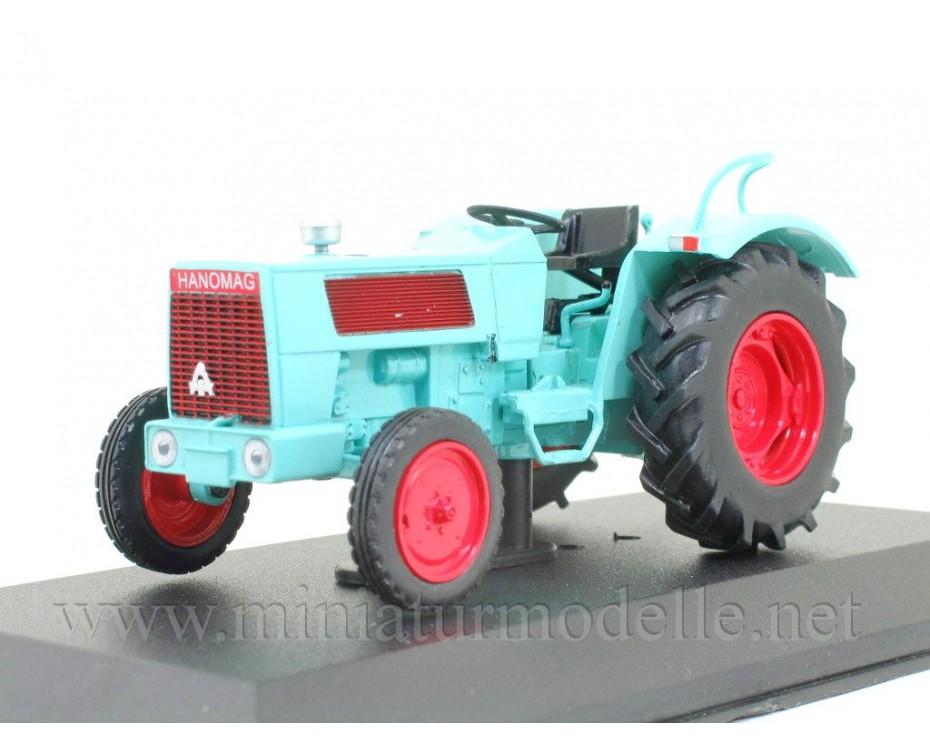 1:43 Hanomag Brillant 601 (1967) Traktor mit Zeitschrift #99