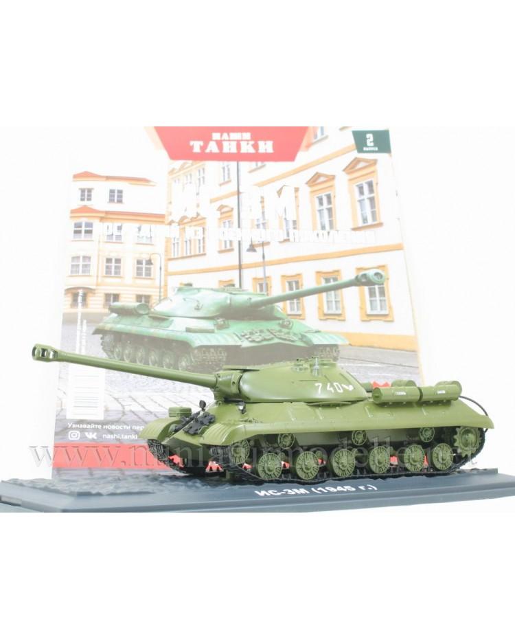 1:43 IS 3M 1945 Stalinpanzer schwerer sowjetischer Kampfpanzer mit Zeitschrift #2
