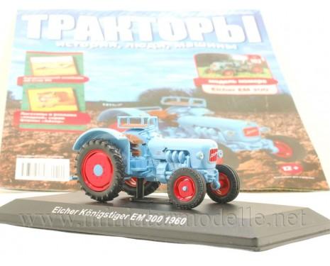 1:43 Eicher Koenigstiger EM 300 Traktor mit Zeitschrift #102