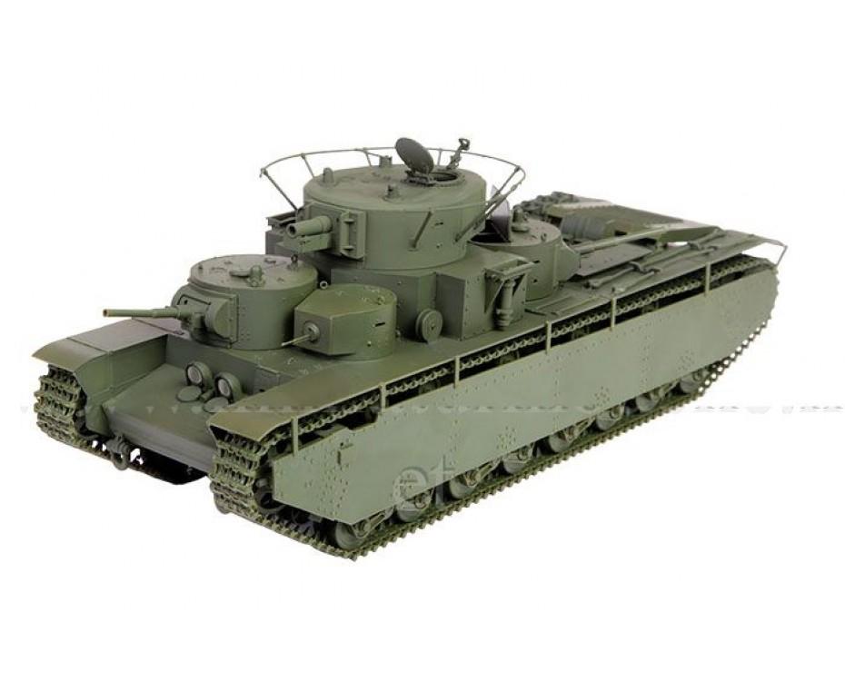 1:35 T 35 soviet heavy tank, kit, 3667, Zvezda by www.miniaturmodelle.net