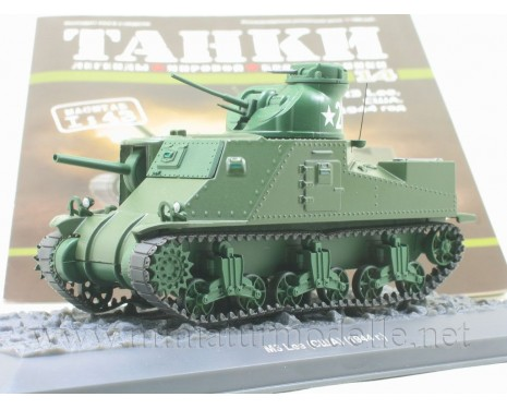 1:43 M3 Lee American medium tank with magazine #14