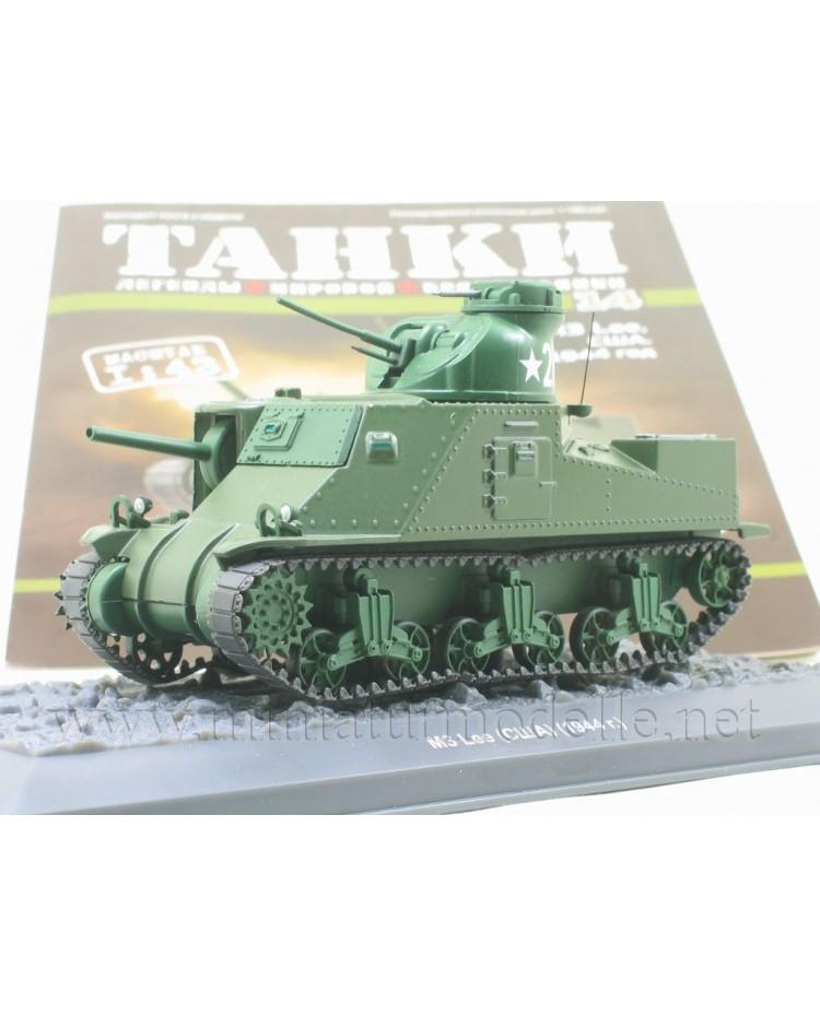 1:43 M3 Lee US-amerikanischer mittlerer Kampfpanzer mit Zeitschrift #14