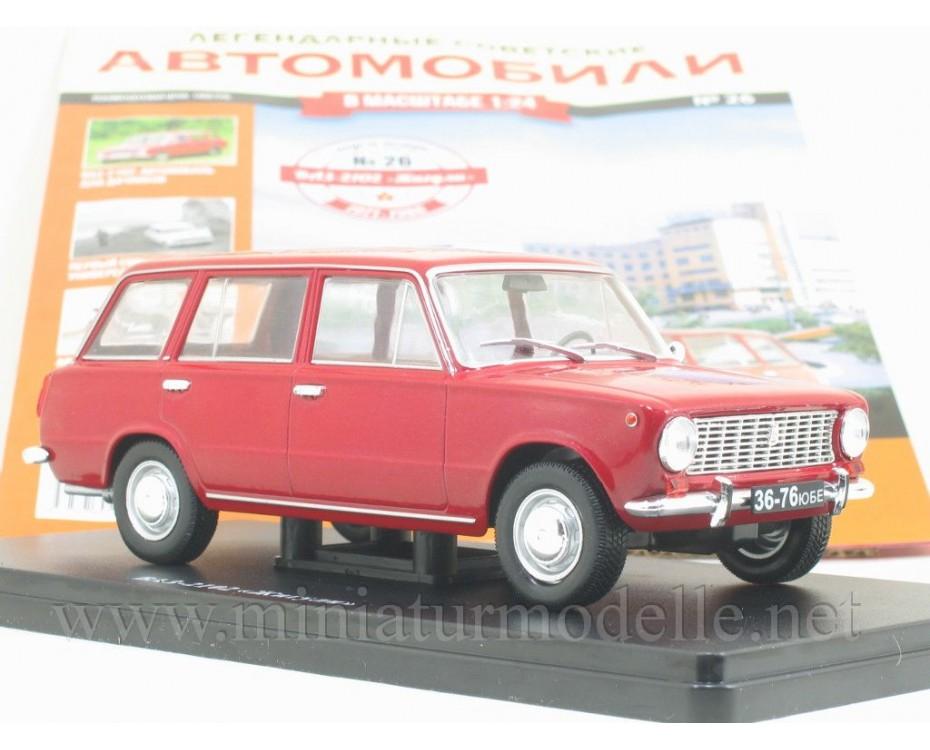 1:24 VAZ 2101 Lada Kombi mit Zeitschrift #26