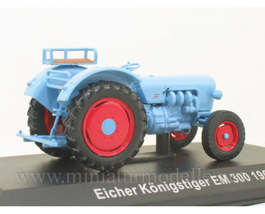 1:43 Eicher Koenigstiger EM 300 tractor with magazine #102