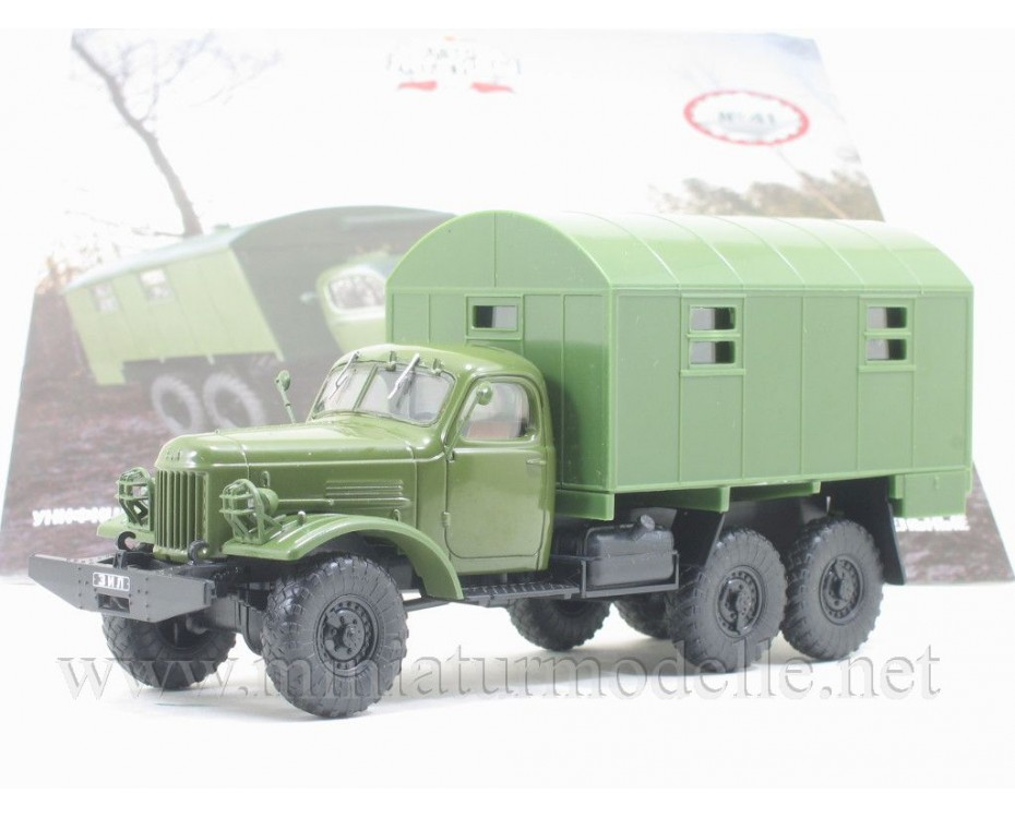 1:43 ZIL 157 K box 1M military with magazine #41