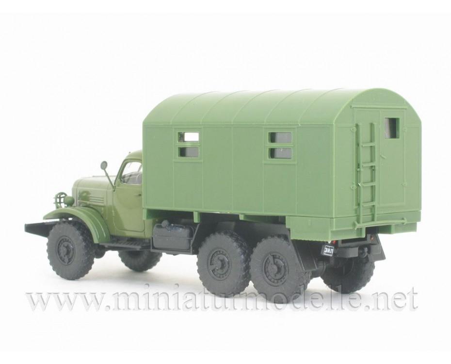 1:43 ZIL 157 K Koffer 1M  Militär mit Zeitschrift #41