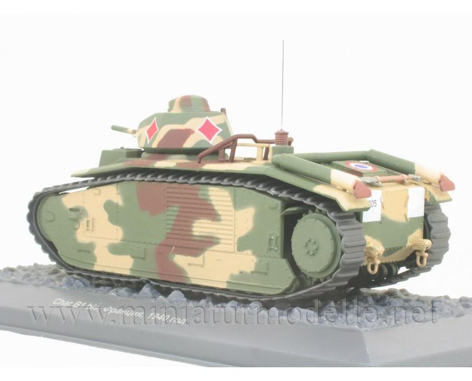 1:43 Char B1 bis French medium tank with magazine #15