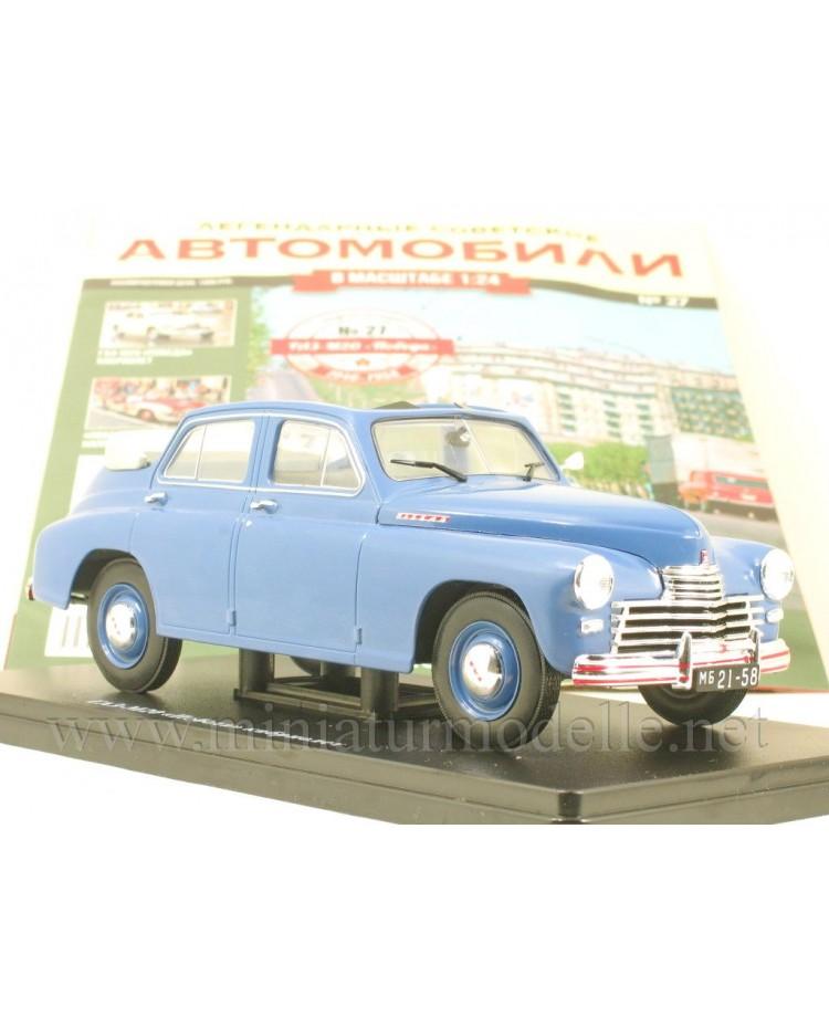 1:24 GAZ M20 Pobeda Cabrio mit Zeitschrift #27