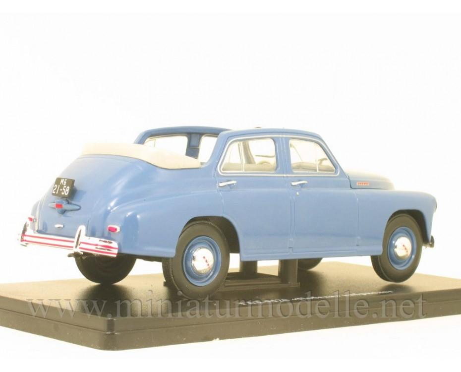 1:24 GAZ M20 Pobeda Cabrio with magazine #27,  Hachette by www.miniaturmodelle.net