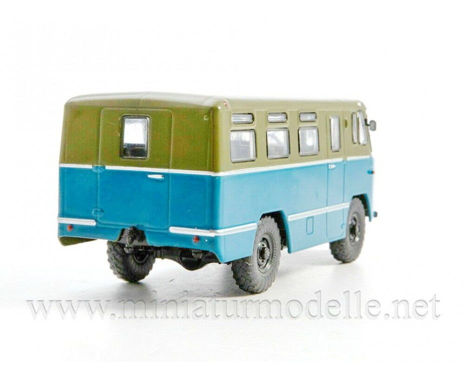 1:43 38 AS Bus with magazine #27,  Modimio Collections by www.miniaturmodelle.net