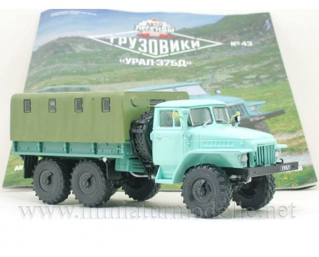 1:43 URAL 375 D Load platform with magazine #43