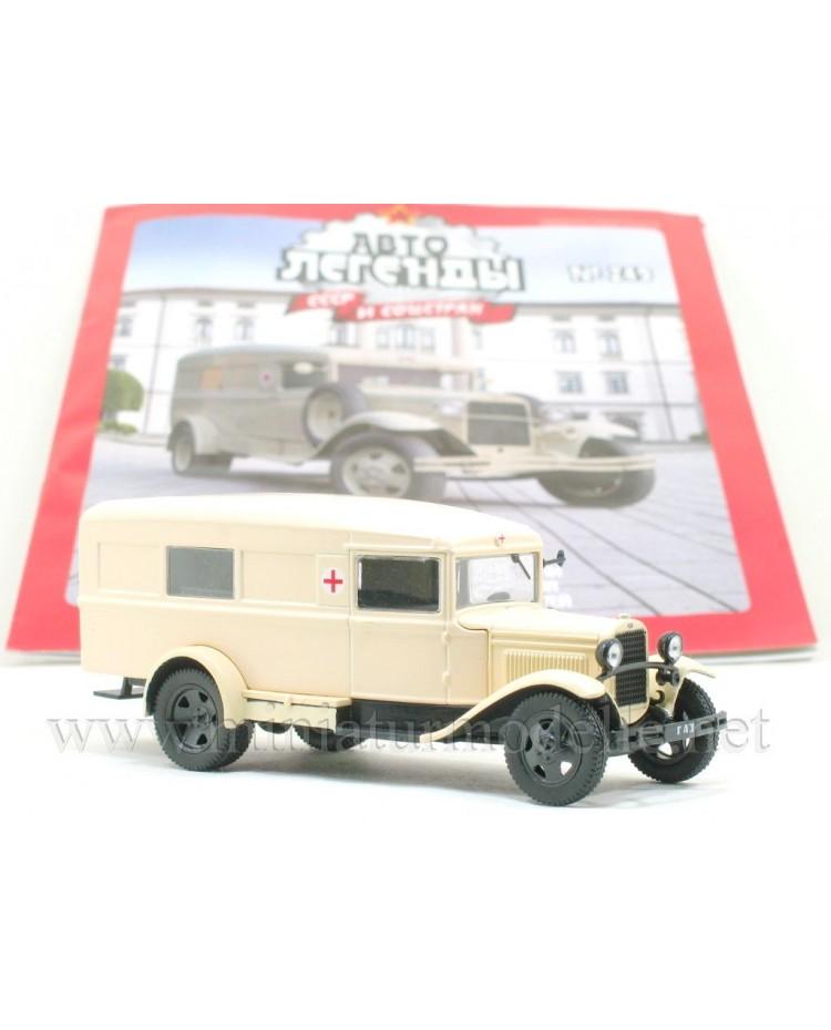 1:43 GAZ 55 Sanitätskoffer mit Zeitschrift #249