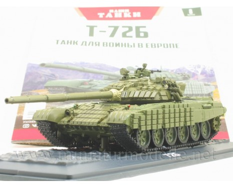 1:43 T 72 B Soviet main battle tank with magazine #8