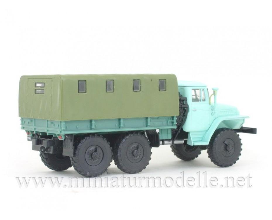 1:43 URAL 375 D Load platform with magazine #43