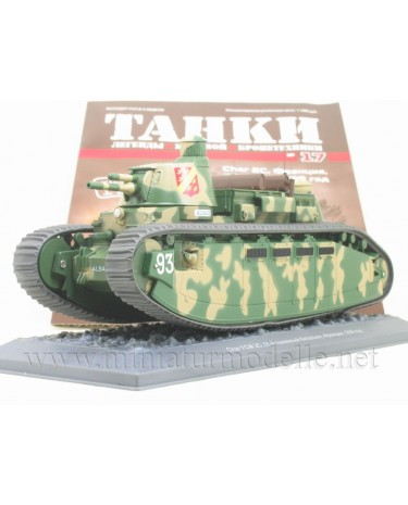 1:43 Char FCM 2S 1939 French heavy tank with magazine #17
