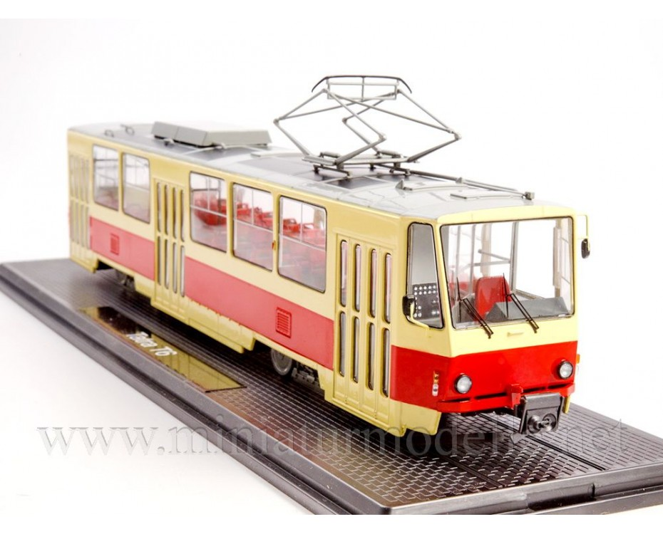1:43 Tatra T6 Tram, SSM4056, Start Scale Models - SSM by www.miniaturmodelle.net