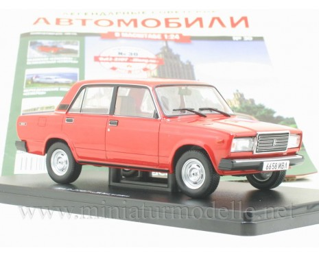 1:24 VAZ 2107 Lada Nova with magazine #30