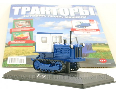 1:43 T-38 Crawler tractor with magazine #107