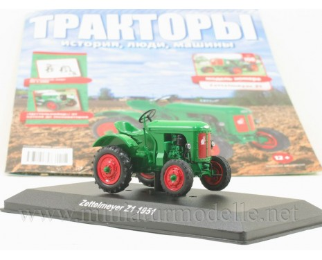 1:43 Zettelmeyer Z1 1951 tractor with magazine #108