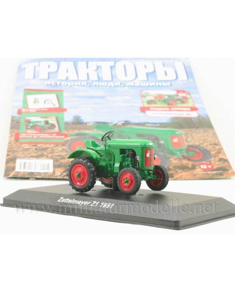 1:43 Zettelmeyer Z1 1951 tractor with magazine #108