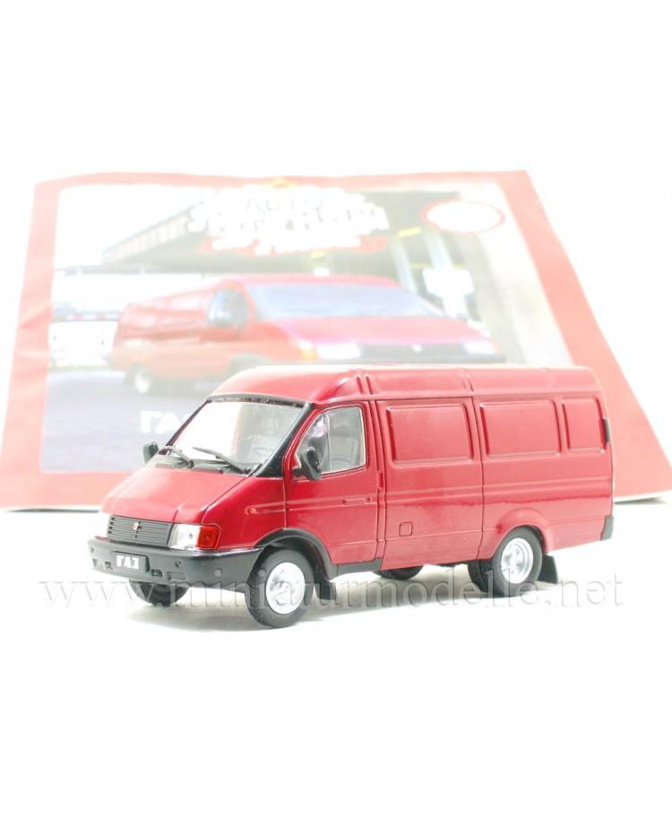 1:43 GAZ 2705 Gazelle van with magazine #251