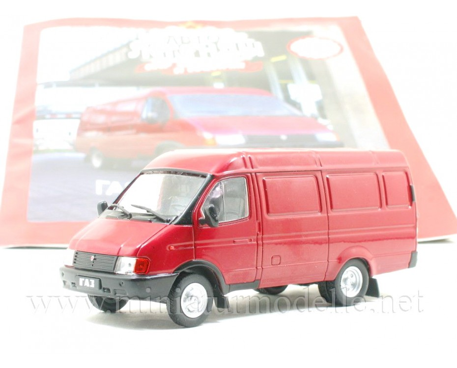 1:43 GAZ 2705 Gazelle van with magazine #251