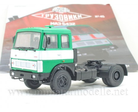 1:43 MAZ-5432 Tractor unit with magazine #45