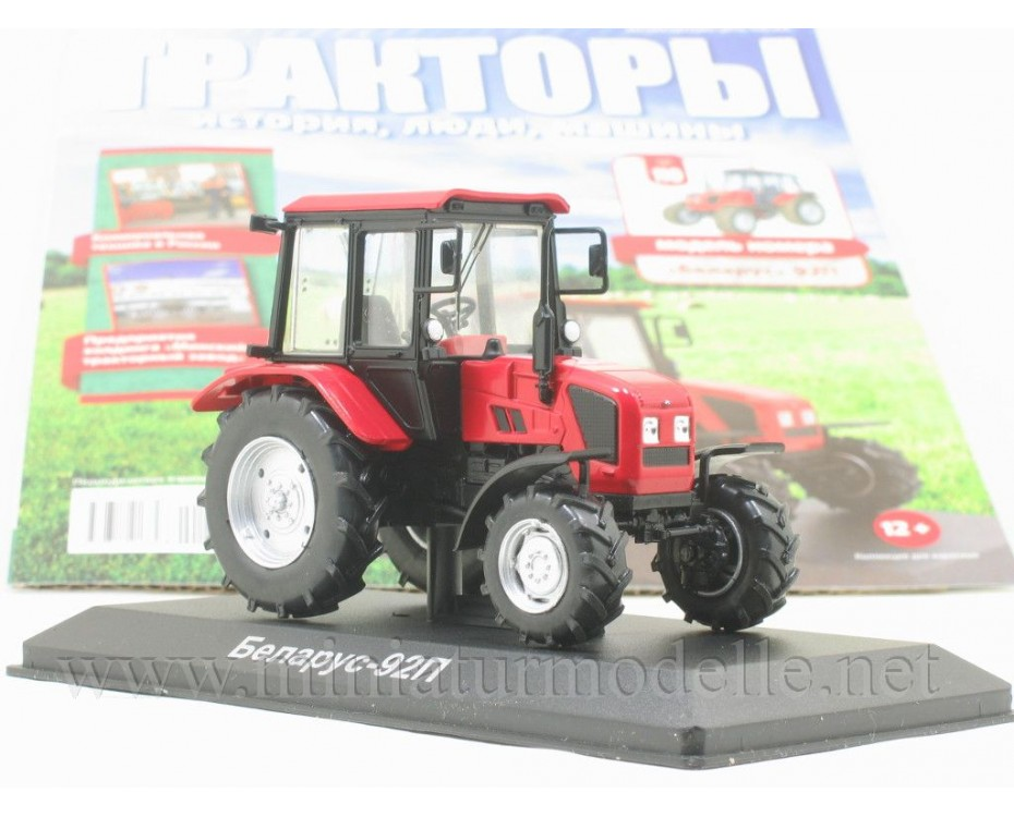 1:43 Belarus 92P Tractor with magazine #110