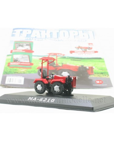 1:43 MA-6210 mini tractor with magazine #111
