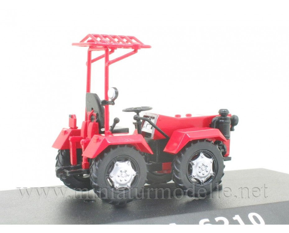 1:43 MA-6210 mini tractor with magazine #111,  Hachette by www.miniaturmodelle.net