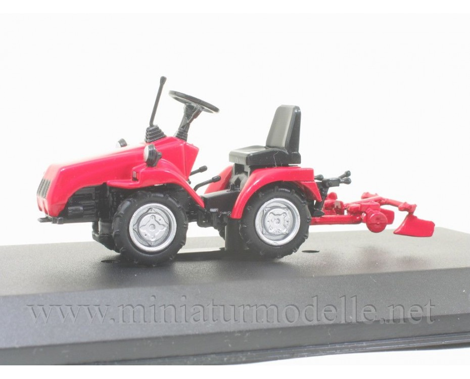 1:43 MTZ 112 Belarus mini tractor with magazine #113
