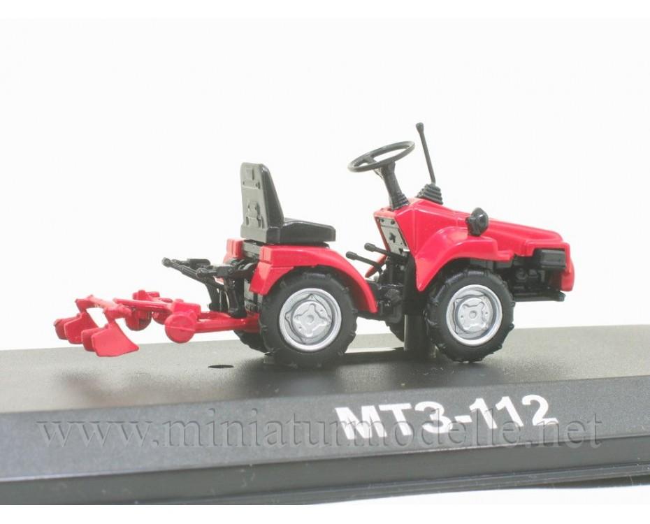 1:43 MTZ 112 Belarus mini tractor with magazine #113,  Hachette by www.miniaturmodelle.net