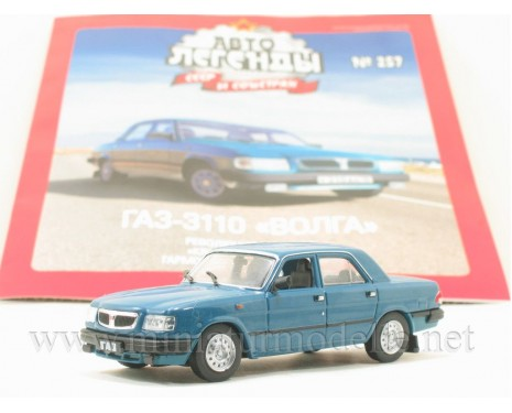 1:43 GAZ-3110 Volga with magazine #257