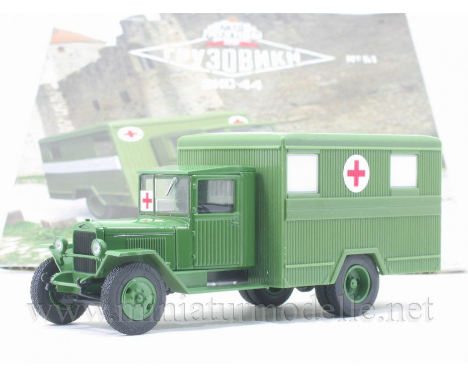 1:43 ZIS-44 field hospital military with magazine #51